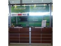 Europcar agency Cayenne Airport Felix Eboué, car rental in French Guiana